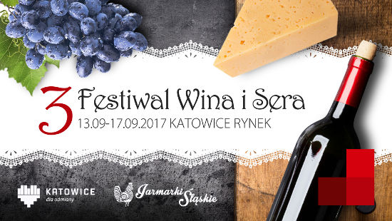 Baner Festiwalu Wina i Sera - Katowice 2017