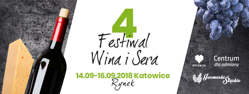 Baner Festiwalu Wina i Sera - Katowice 2018