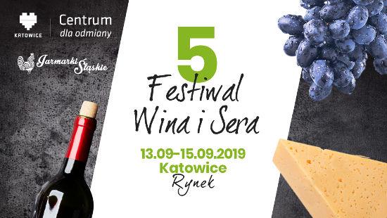 Plakat Festiwalu Wina i Sera - Katowice 2019