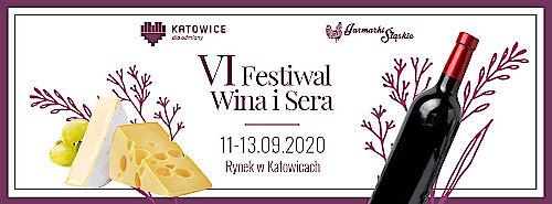 Plakat Festiwalu Wina i Sera - Katowice 2020