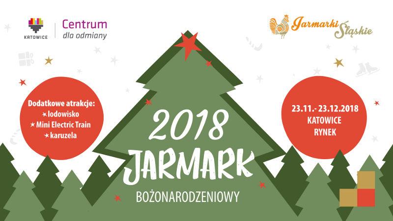 Plakat Jarmarku Bożonarodzeniowego Katowice 2018