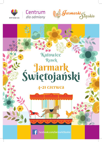 Plakat Jarmarku Świetojańskiego