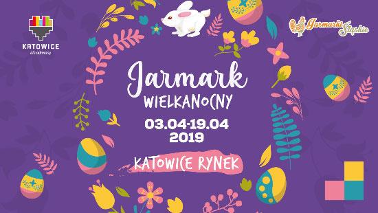 baner jarmarku wielkanocnego 2019 w katowicach