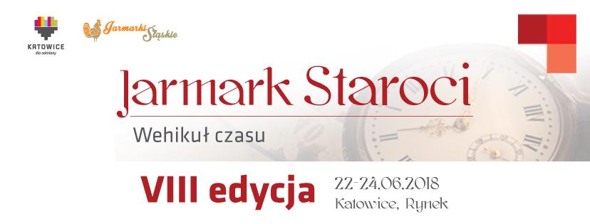 Plakat Jarmarku Staroci VIII edycja 2018