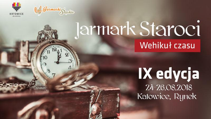 Plakat Jarmarku Staroci IX edycja 2018