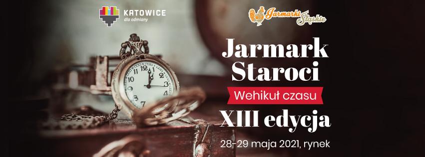 Plakat Jarmarku Staroci XII edycja 2021