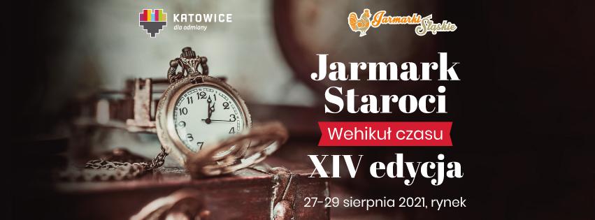 Plakat Jarmarku Staroci XIV edycja 2021