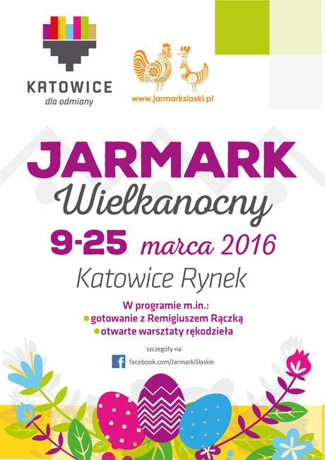 Jarmark Wielkanocny Katowice 2016